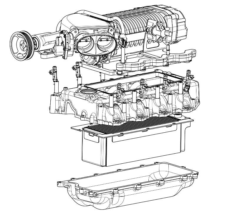 Mustang Supercharger Diagram